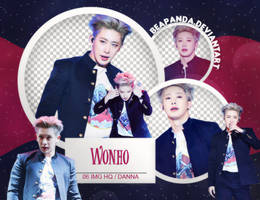 Pack Png 608 // Wonho (MONSTA X) by BEAPANDA