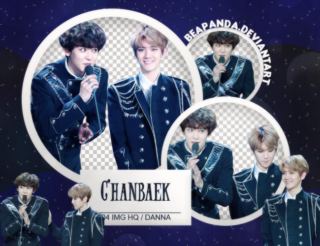 Pack Png #612 // Chanbaek (EXO) by BEAPANDA