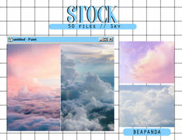 Stock 010 // Sky by BEAPANDA