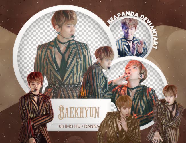 Pack Png #617 // Baekhyun (EXO) by BEAPANDA