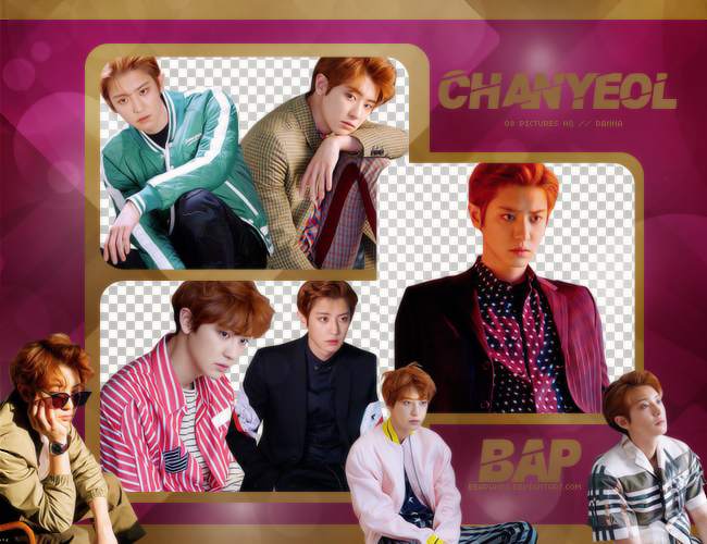 Pack Png #645 // Chanyeol (EXO) by BEAPANDA