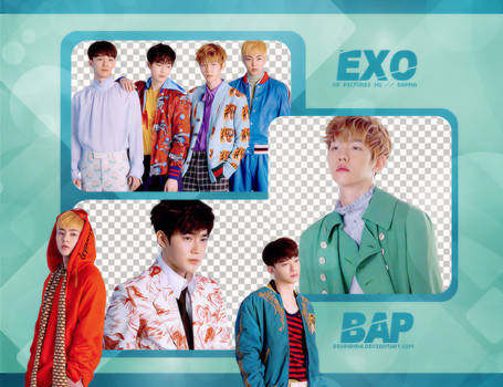 Pack Png #647 // EXO by BEAPANDA