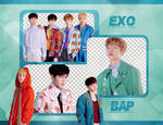 Pack Png 647 // EXO (Vogue Korea 2017) (BTS)