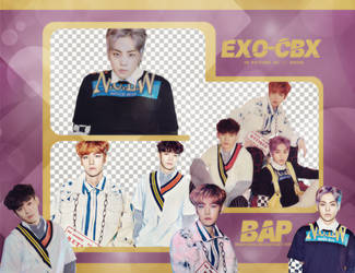 Pack Png #650 // EXO-CBX (Girls!)