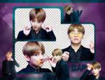 PACK PNG | V (BTS) (BBMAs NAVER X DISPATCH 2017)