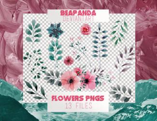 Renders 010 // Floral Pngs by BEAPANDA