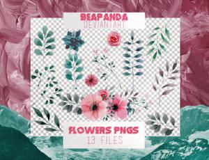 Renders 010 // Floral Pngs