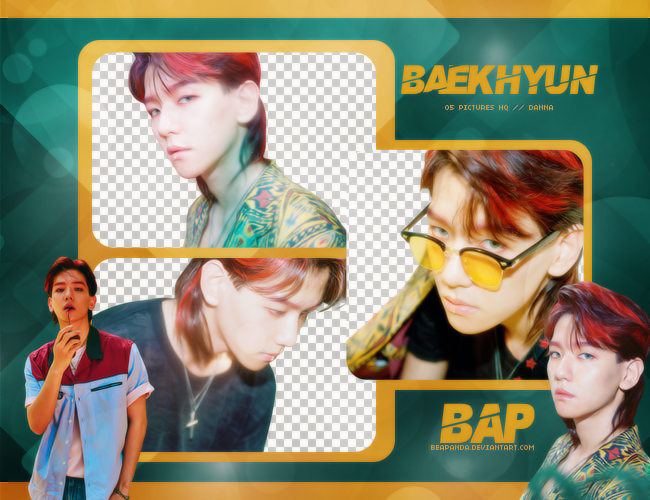 Pack Png #667 // Baekhyun (EXO) (THE WAR) by BEAPANDA