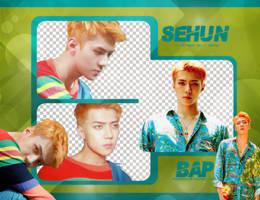 Pack Png #668 // Sehun (EXO) (THE WAR) by BEAPANDA