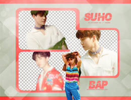 Pack Png #670 // Suho (EXO) (THE WAR) by BEAPANDA