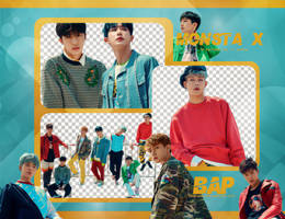 Pack Png 681 // MONSTA X (Shine Forever) by BEAPANDA