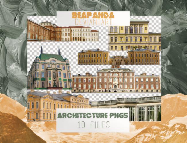 Renders 016 // Architecture Pngs by BEAPANDA