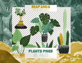 Renders 024 // Plants Pngs by BEAPANDA