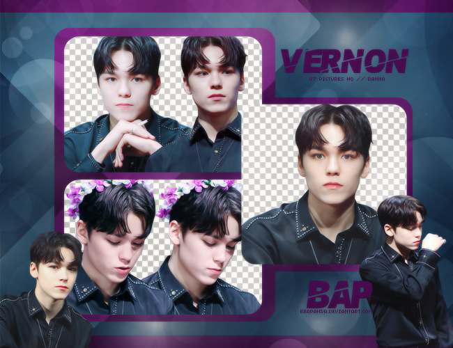 Pack Png #707 // Vernon (SEVENTEEN) by BEAPANDA on DeviantArt