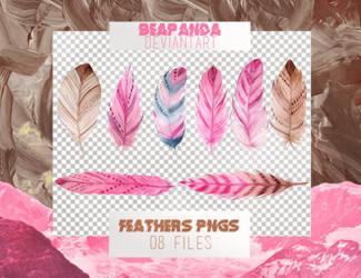 Renders 033 // Feathers Pngs by BEAPANDA