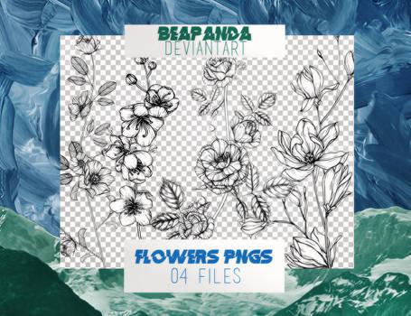Renders 035 // Flowers Pngs