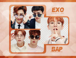 Pack Png 735 // EXO by BEAPANDA