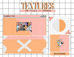 Textures 048 // Orange (Serendipity) by BEAPANDA