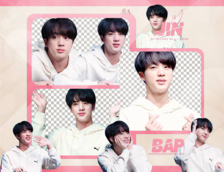 Pack Png 765 // Jin (BTS)
