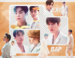 Pack Png 774 // EXO (Elyxion) by BEAPANDA