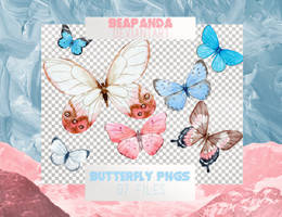 Renders 055 // Butterfly Pngs