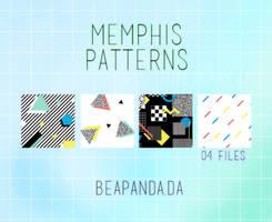 Patterns 009 // Memphis Retro by BEAPANDA
