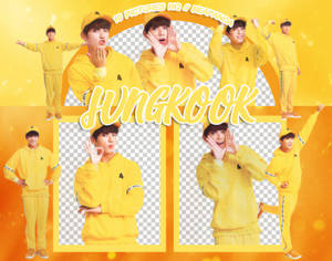 Pack Png 872 // Jungkook (BTS) (ARMY ZIP 2018)