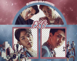 Pack Png 878 // EXO (Countdown) by BEAPANDA