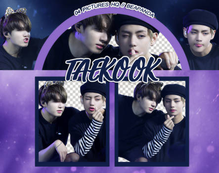 Pack Png 908 // Taekook (BTS) (170506 Wings Tour)