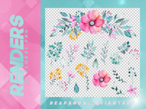 Renders 063 // Floral Pngs