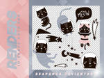 Renders 085 // Space Cats Stickers Pngs