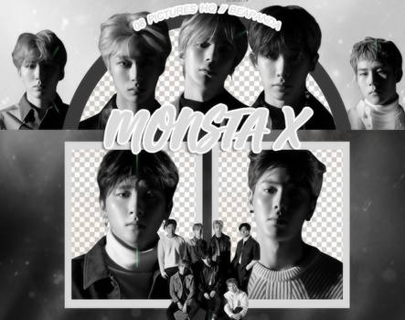 Pack Png 988 // MONSTA X (THE CONNECT - DEJA VU)