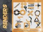 Renders 101 // Symbols Pngs