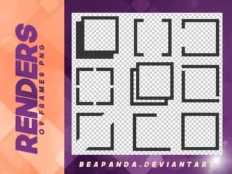 Renders 083 // Frames Pngs by BEAPANDA