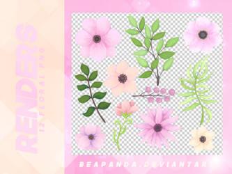 Renders 084 // Floral Pngs by BEAPANDA