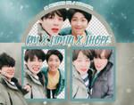 Pack Png 1009 // RM x Jimin x J-Hope (BTS)