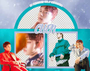 Pack Png 1024 // Chen (EXO-CBX) (Blooming Days) by BEAPANDA