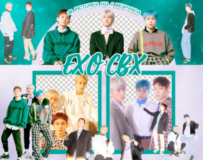 Pack Png 1027 // EXO-CBX (Blooming Days)