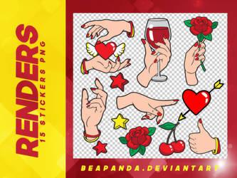 Renders 097 // Stickers Pngs by BEAPANDA