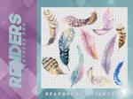 Renders 094 // Feathers Pngs
