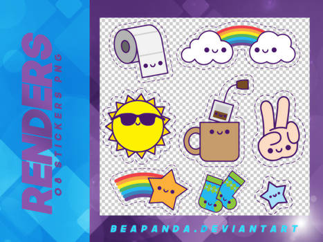Renders 117 // Stickers Pngs
