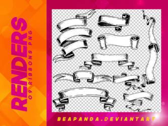 Renders 119 // Ribbons Pngs by BEAPANDA