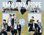 Pack Png 1113 // RM x Jin x J-Hope (BTS)