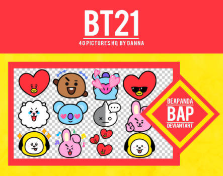 Pack Png 1126 // BT21
