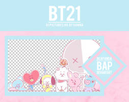 Pack Png 1127 // BT21 by BEAPANDA
