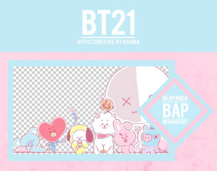 Pack Png 1127 // BT21