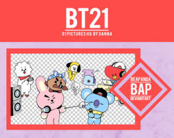 Pack Png 1128 // BT21 by BEAPANDA
