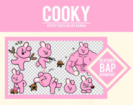 Pack Png 1130 // COOKY (BT21)
