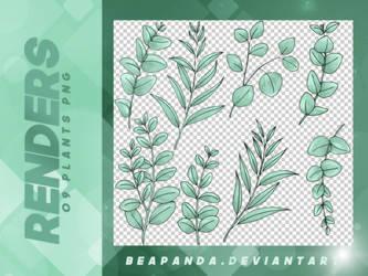 Renders 155 // Plants Pngs by BEAPANDA