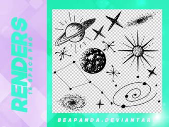 Renders 157 // Space Pngs by BEAPANDA